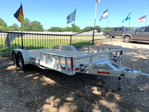 2020 CAR TRAILER 18' NEW! Brakes and RAMPS for Sale in Dallas, TX