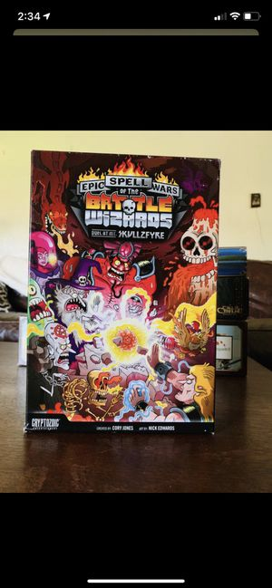 Board game! Epic Spell Wars Of the Battle Wizards (Duel at Mt. Skullfyre) Card Game! for Sale in Spring Valley, CA