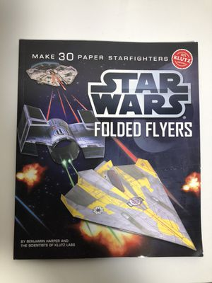 Star Wars folded flyers book for Sale in Auburn, WA