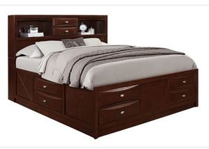 Queen Storage Bed Brand New for Sale in Richmond, VA