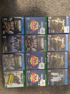 Ps4 and Xbox One Games for Sale in Nashville, TN