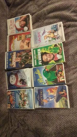 Vintage Vhs movies BEST OFFER for Sale in Tacoma, WA