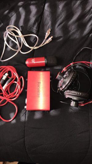 Focusrite Studio Equipment for Sale in Germantown, MD