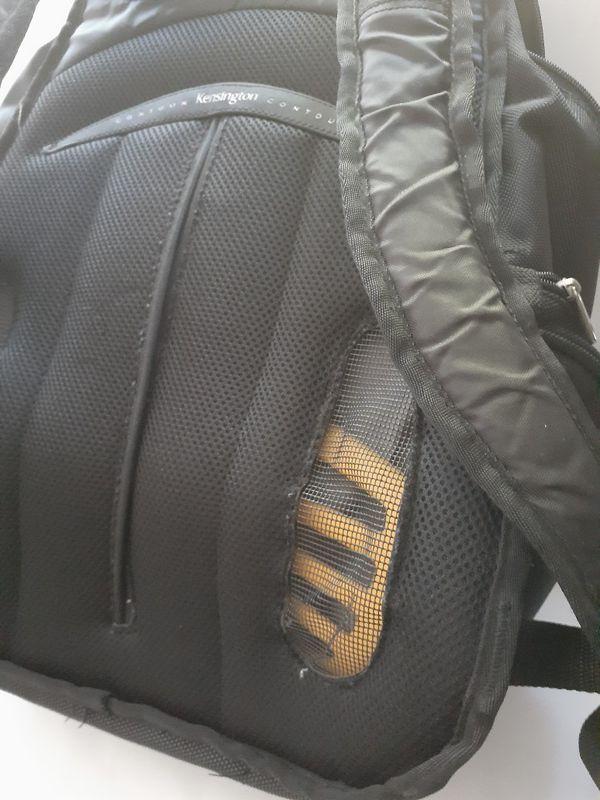 Genuine Kensington Contour Laptop Backpack For 17 Inch Laptop Lifetime
