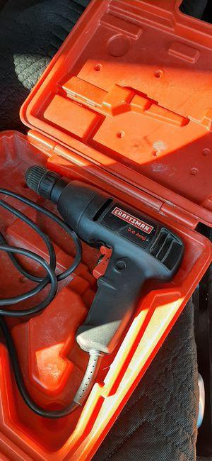 Drill 3.0 amp CRAFTSMAN for Sale in Redlands, CA