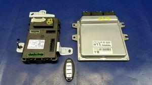 2014 2015 INFINITI Q50 ENGINE & BODY CONTROL MODULE ECM BCM W/ SMART KEY FOB 3.7L # 54921 for Sale in Fort Lauderdale, FL