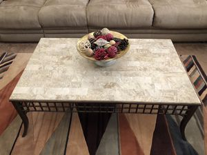 STONE COFFEE & END TABLE SET for Sale in Tempe, AZ