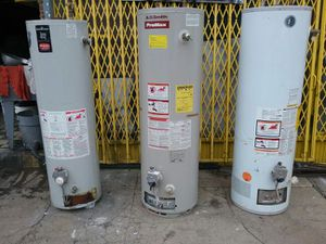 Gas water heater 40 & 30 gallons for Sale in Camden, NJ