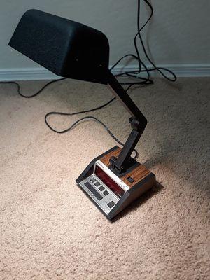 Retro Spartus 1401 Alarm Clock / Desk Lamp Combo / Underwriters Laboratories for Sale in Litchfield Park, AZ