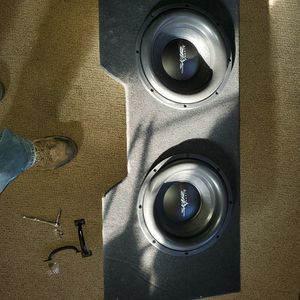 Brand New 12 Inch Woofers In Custom Box for Sale in Ridgefield, CT