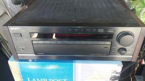 rare sony ta-av670 integrated av amplifier/ wood side panels for Sale in Lakewood, CA