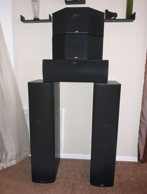 A legend in sound KLIPSCH home theater sound system for Sale in Lawrenceville, GA