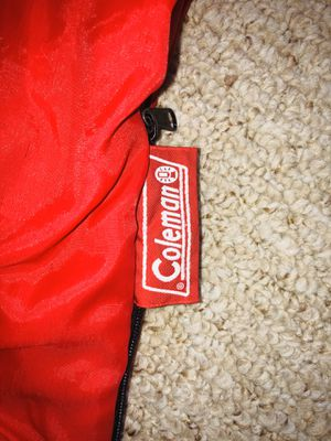 COLEMAN LINED SLEEPING BAG for Sale in Cary, NC