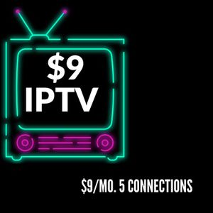 IPTV for $9/Mo. 5 Connections for Sale in New York, NY