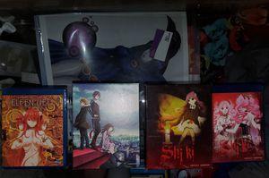 Anime DVD/BLU RAY Shiki, Elfen Lied, Noragami S1 for Sale in Dallas, TX
