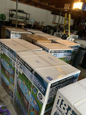 VARIETY OF POOLS - VARIEDAD DE ALBERCAS SALE for Sale in Friendswood, TX