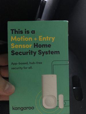 Motion sensor security system for Sale in Franklin, TN
