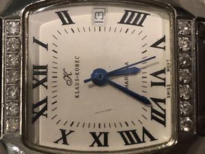 Stainless Steel Charisma Diamond Wristwatch by Klaus Kobec for Sale in Chantilly, VA