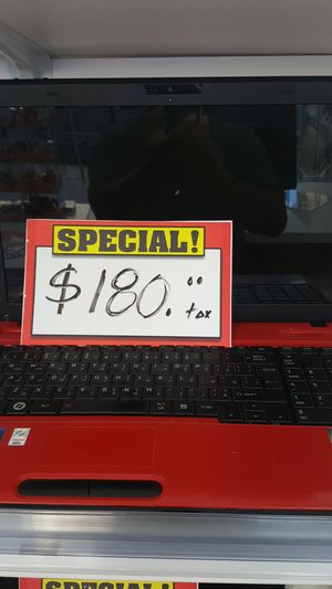 Laptop Toshiba Intel core i3 for Sale in Los Angeles, CA