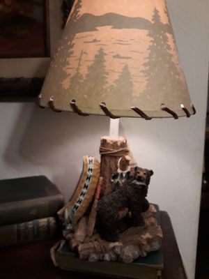 Vintage Bear Lamp with matching shade for Sale in Pittsburgh, PA