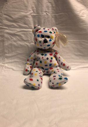 CONFETTI BEAR - TY Beanie Baby TY 2K for Sale in Plandome, NY