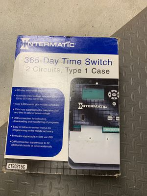 Intermatic ET90215C timer 120 to 177 VAC 30 A for Sale in Pawtucket, RI