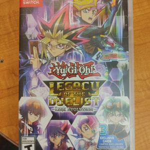 Yu-Gi-Oh Legacy Of The Duelist-Nintendo Switch for Sale in Redmond, OR