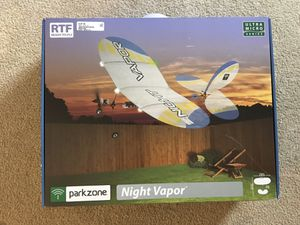 Parkzone Night Vapor RTF (Ready To Fly) Remote Plane for Sale in New Cumberland, PA