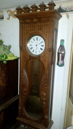 LARGE ANTIQUE PINWHEEL JEWELERS REGULATOR WALL CLOCK - Absolutely Beautiful!!! for Sale in NJ, US