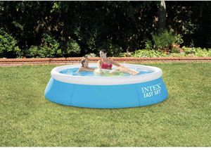 """Intex 6' x 20"""" Easy Set Round Inflatable Above Ground Pool 🌊 for Sale in Arlington, TX"""