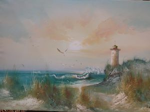 New never used Light house painting for Sale in Plano, TX