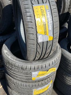 245/40/18 SET OF 4 NEW TIRES LandGolden for Sale in Downey,  CA