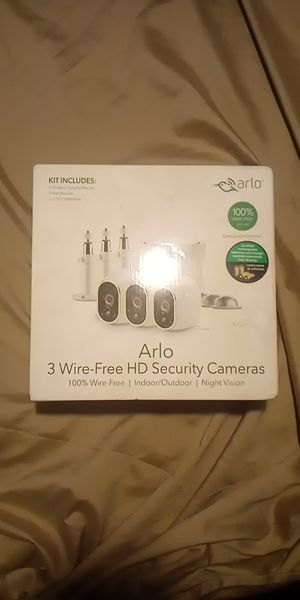 Arlo 3 Wire-Free HD Security Cameras for Sale in Homeland, FL