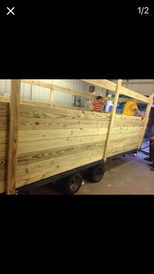 Wood trailer for Sale in Caledonia, MI