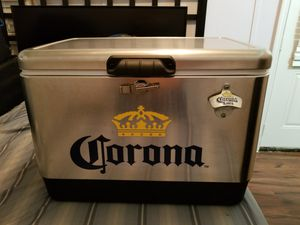 CORONA STAINLESS STEEL ICE CHEST COOLER BRAND NEW!!! for Sale in Marietta, GA