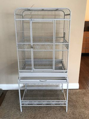 Playtop Bird Cage with Stand and Cover for Sale in Poway, CA
