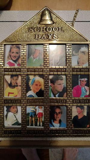 Solid Brass School Days frame for Sale in Richmond, VA