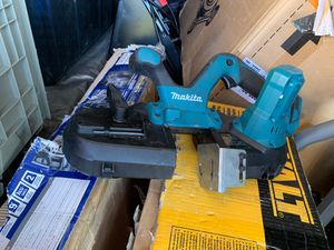 Used makita 18VOLT BAND SAW tool only for Sale in West Valley City, UT