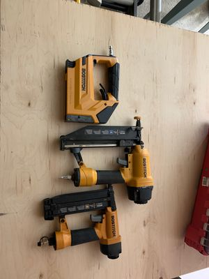 Bostitch 3 piece nail/staple gun for Sale in Los Angeles, CA