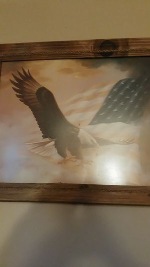 Hanging Eagle picture for Sale in Des Moines, IA