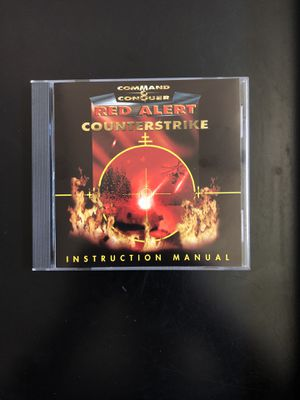 Command & Conquer: Red Alert Counterstrike (PC, 1997) PC CD Windows 95 Or DOS for Sale in Phoenix, AZ
