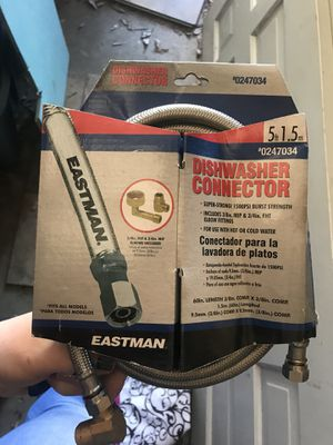 New Eastman dishwasher connector line 5 feet long for Sale in Virginia Beach, VA
