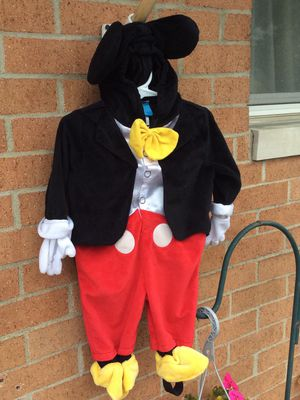 Disney Mickey Mouse Halloween costume Sz 3-6 months, $10 for Sale in Columbus, OH
