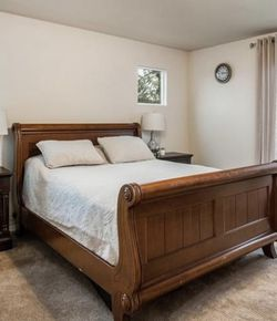 Queen Bed, Armoire, And Two Night Stands for Sale in Federal Way,  WA