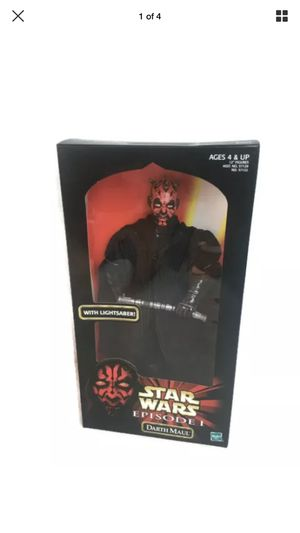 Star Wars EPISODE I COLLECTION: Darth Maul Authentically Styled Action Figure by Hasbro for Sale in Las Vegas, NV