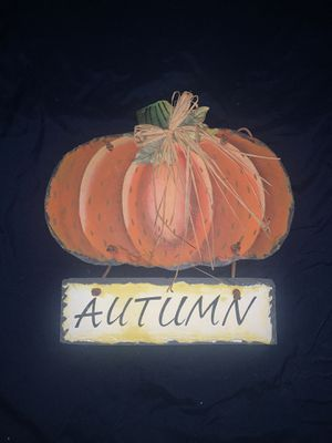 Metal Autumn Sign for Sale in Erin, TN