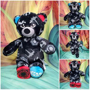 "Build a Bear Star Wars Light Dark Side Red Blue Black 18"" Plush BAB Teddy for Sale in Dale, TX"