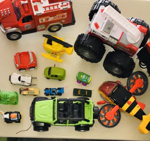 Box of Toy Cars for Sale in Oklahoma City, OK