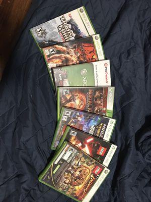 Xbox 360 7 games for Sale in Elizabeth, NJ