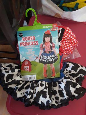 Rodeo princess Halloween costume 2T for Sale in Santa Maria, CA